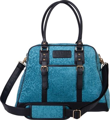 Trend Lab Waverly Carryall Diaper Bag Teal, Black, Taupe - Trend Lab Diaper Bags & Accessories