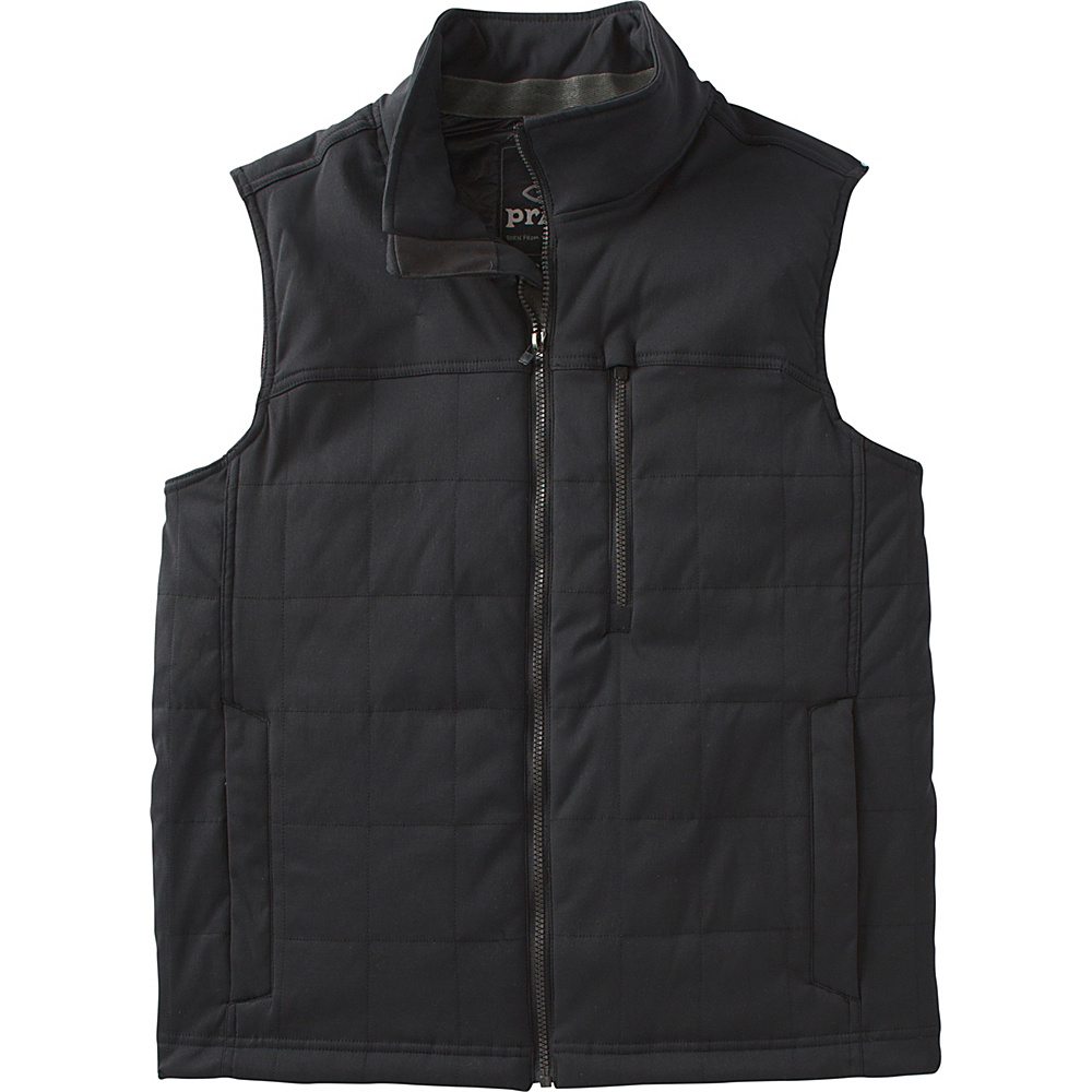 PrAna Zion Quilted Vest XXL - Black - PrAna Mens Apparel - Apparel & Footwear, Men's Apparel