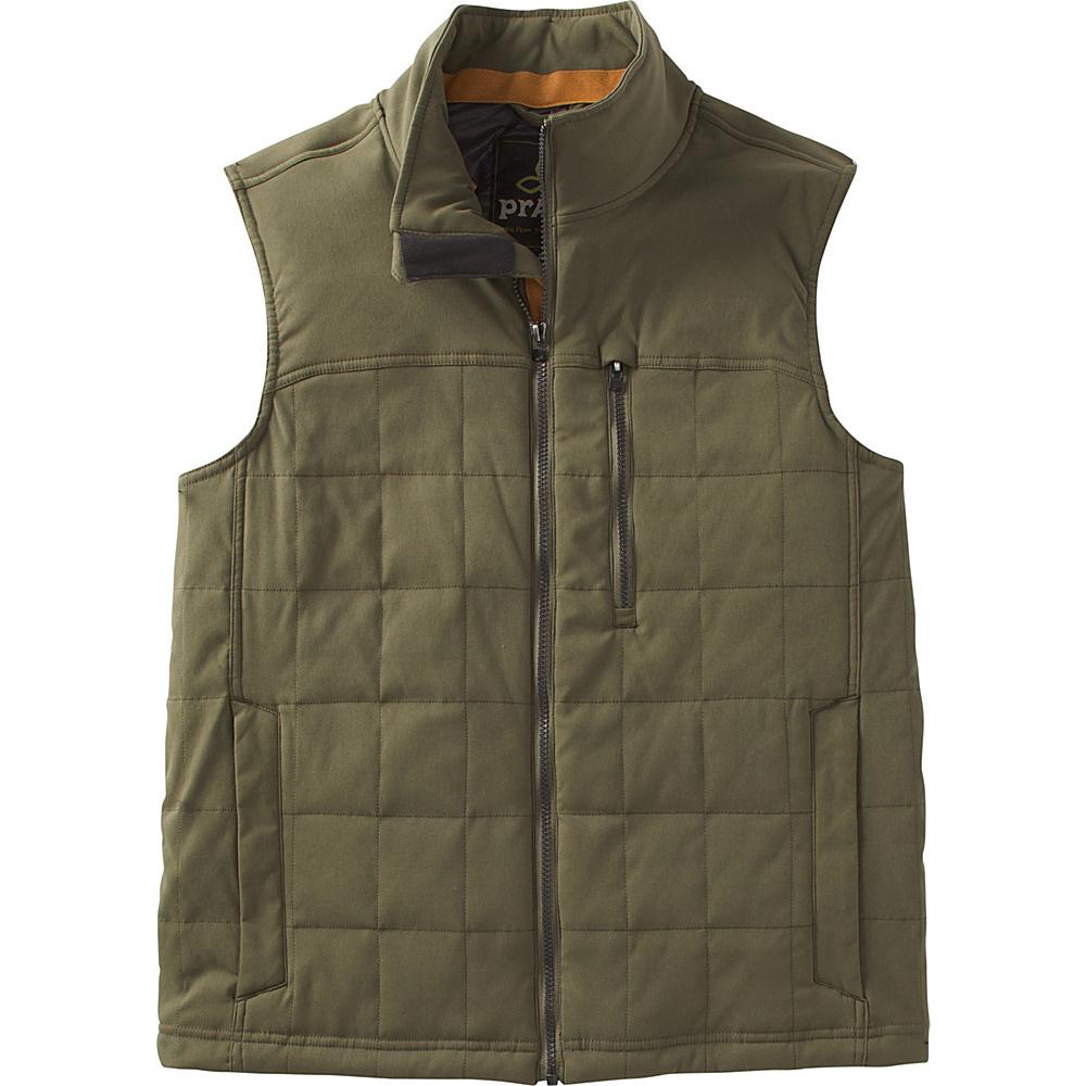 PrAna Zion Quilted Vest S - Cargo Green - PrAna Mens Apparel - Apparel & Footwear, Men's Apparel