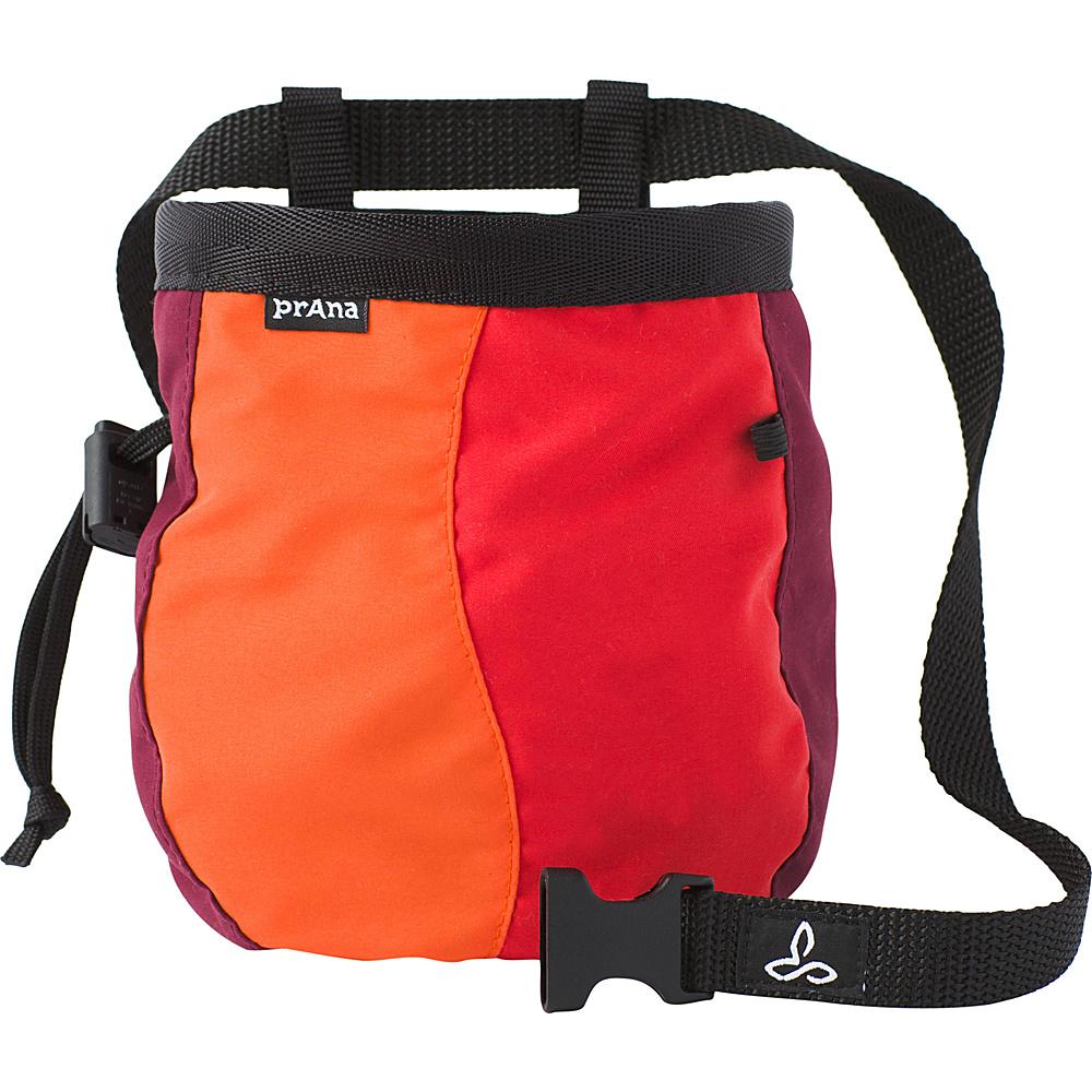 PrAna Geo Chalk Bag with Belt Cayenne - PrAna Sports Accessories - Sports, Sports Accessories