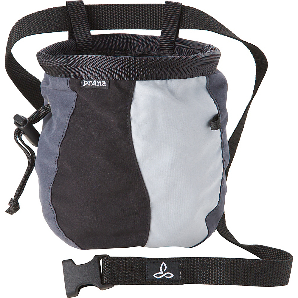 PrAna Geo Chalk Bag with Belt Charcoal - PrAna Sports Accessories - Sports, Sports Accessories