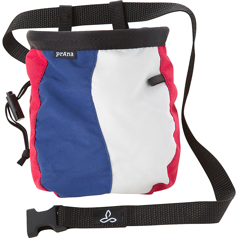 PrAna Geo Chalk Bag with Belt Red White Blue - PrAna Sports Accessories - Sports, Sports Accessories