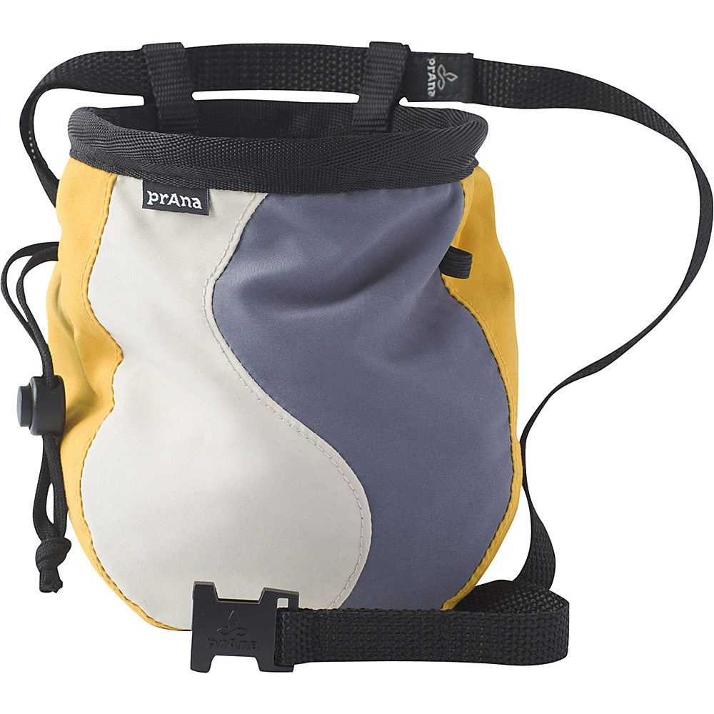 PrAna Geo Chalk Bag with Belt Stone - PrAna Sports Accessories - Sports, Sports Accessories