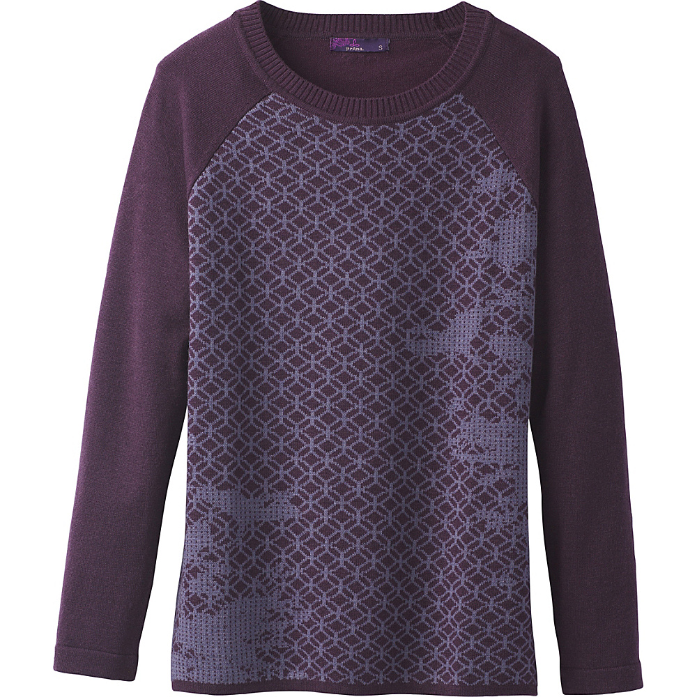 PrAna Antonia Sweater M - Dark Plum - PrAna Womens Apparel - Apparel & Footwear, Women's Apparel