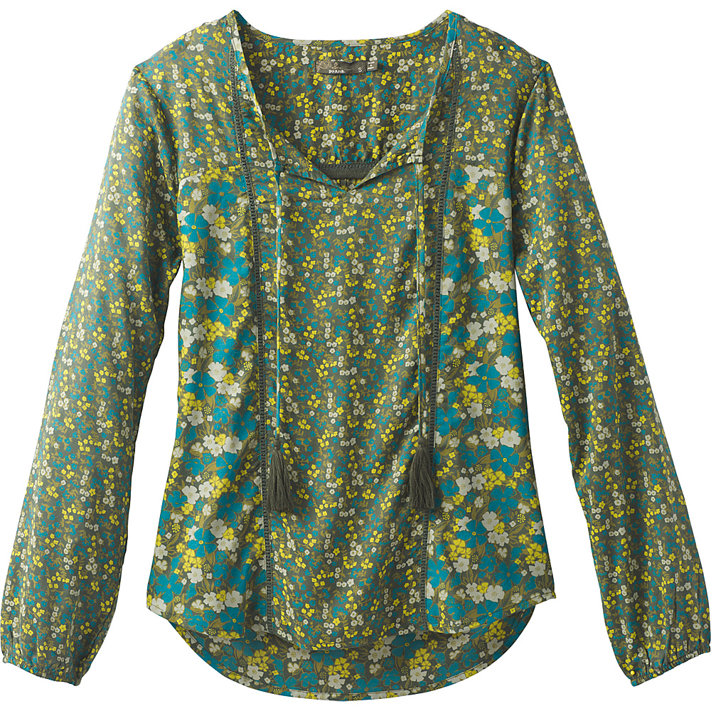 PrAna Faith Top XS - Olive - PrAna Womens Apparel - Apparel & Footwear, Women's Apparel