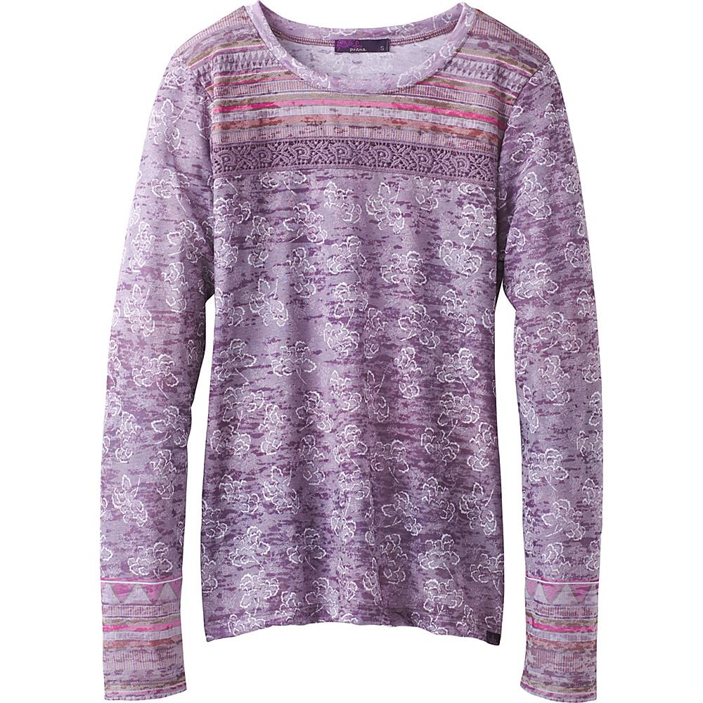 PrAna Tilly Top XL - Dark Plum Willow - PrAna Womens Apparel - Apparel & Footwear, Women's Apparel