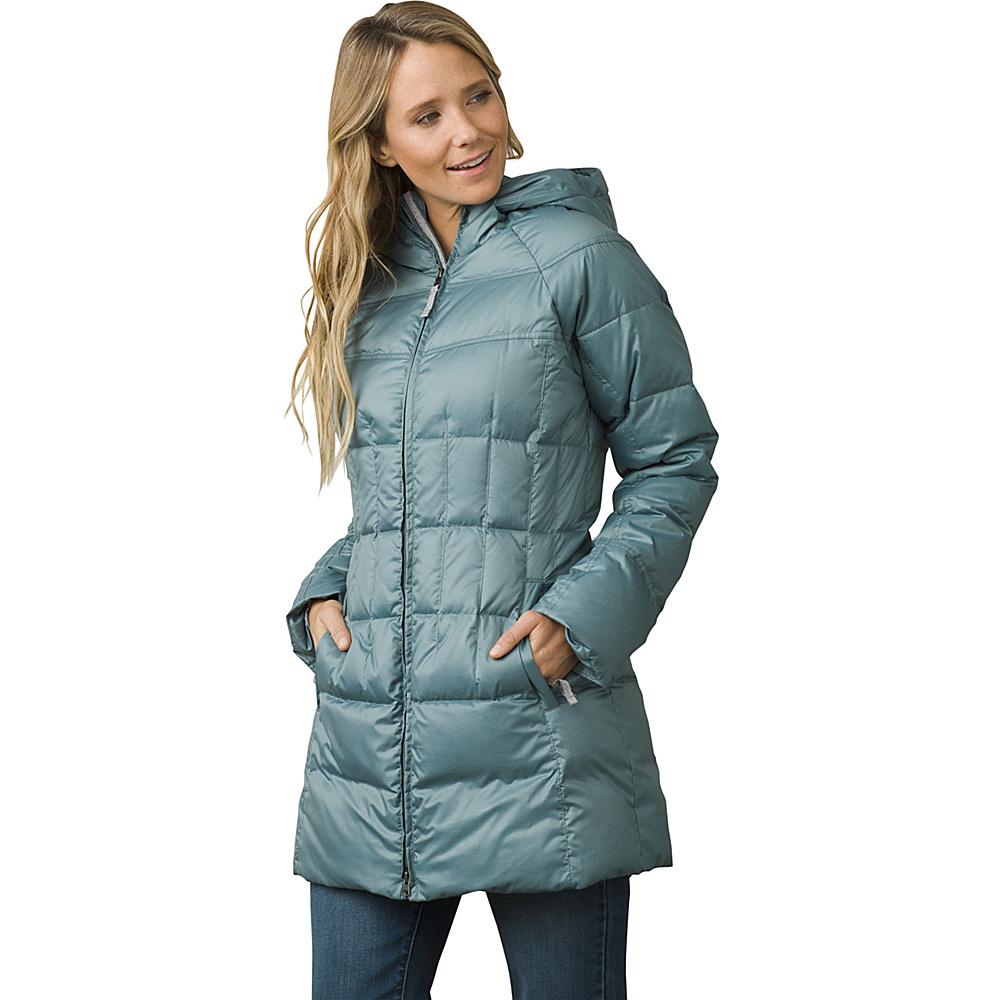 PrAna Imogen Long Jacket XL - Bayou Blue - PrAna Womens Apparel - Apparel & Footwear, Women's Apparel