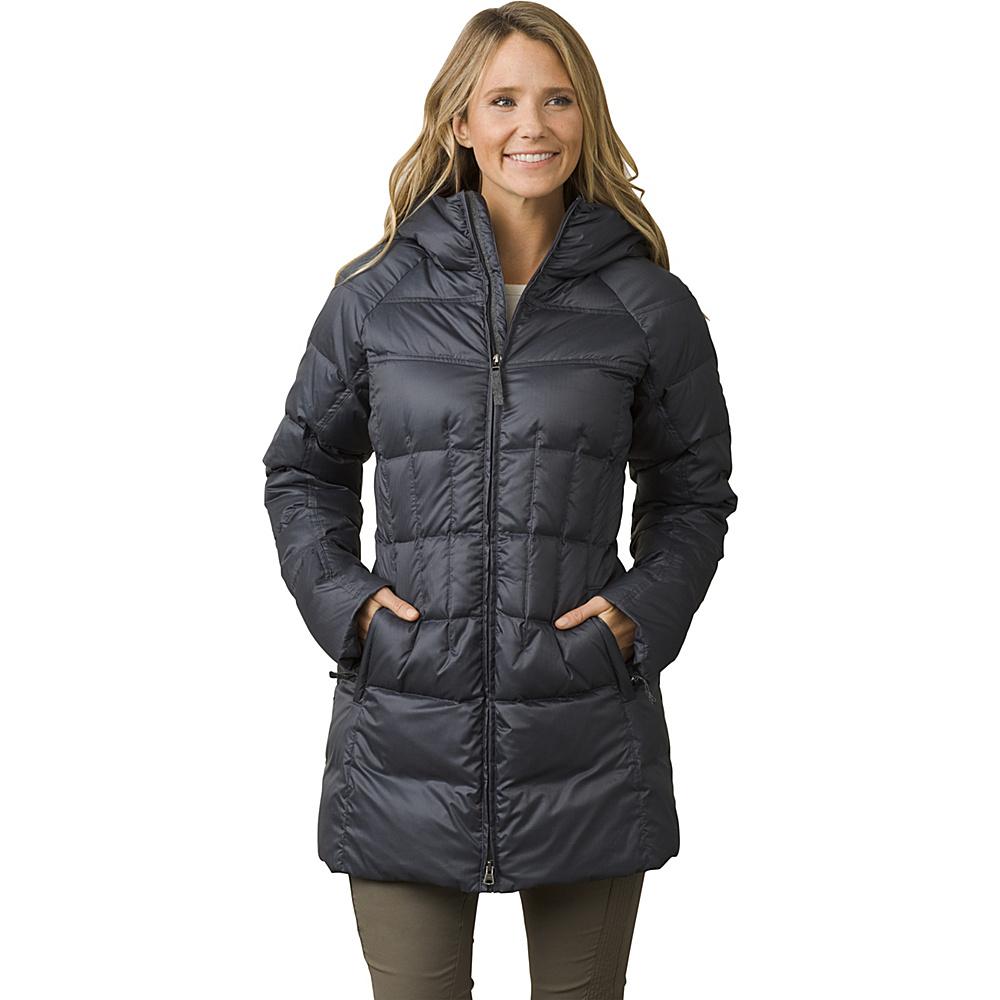 PrAna Imogen Long Jacket XS - Coal - PrAna Womens Apparel - Apparel & Footwear, Women's Apparel