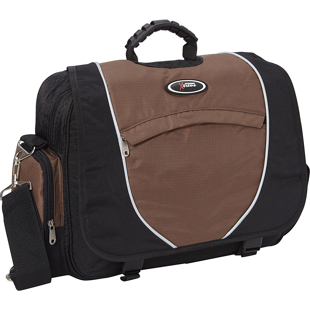 Everest Messenger Laptop Bag Brown/Black - Everest Messenger Bags - Work Bags & Briefcases, Messenger Bags