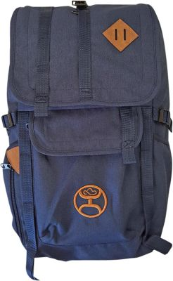 Hooey Top Loading Laptop Backpack Navy Blue - Hooey Laptop Backpacks