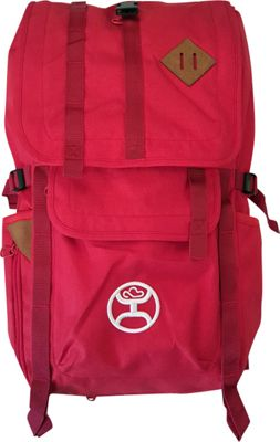 Hooey Top Loading Laptop Backpack Scarlet - Hooey Laptop Backpacks