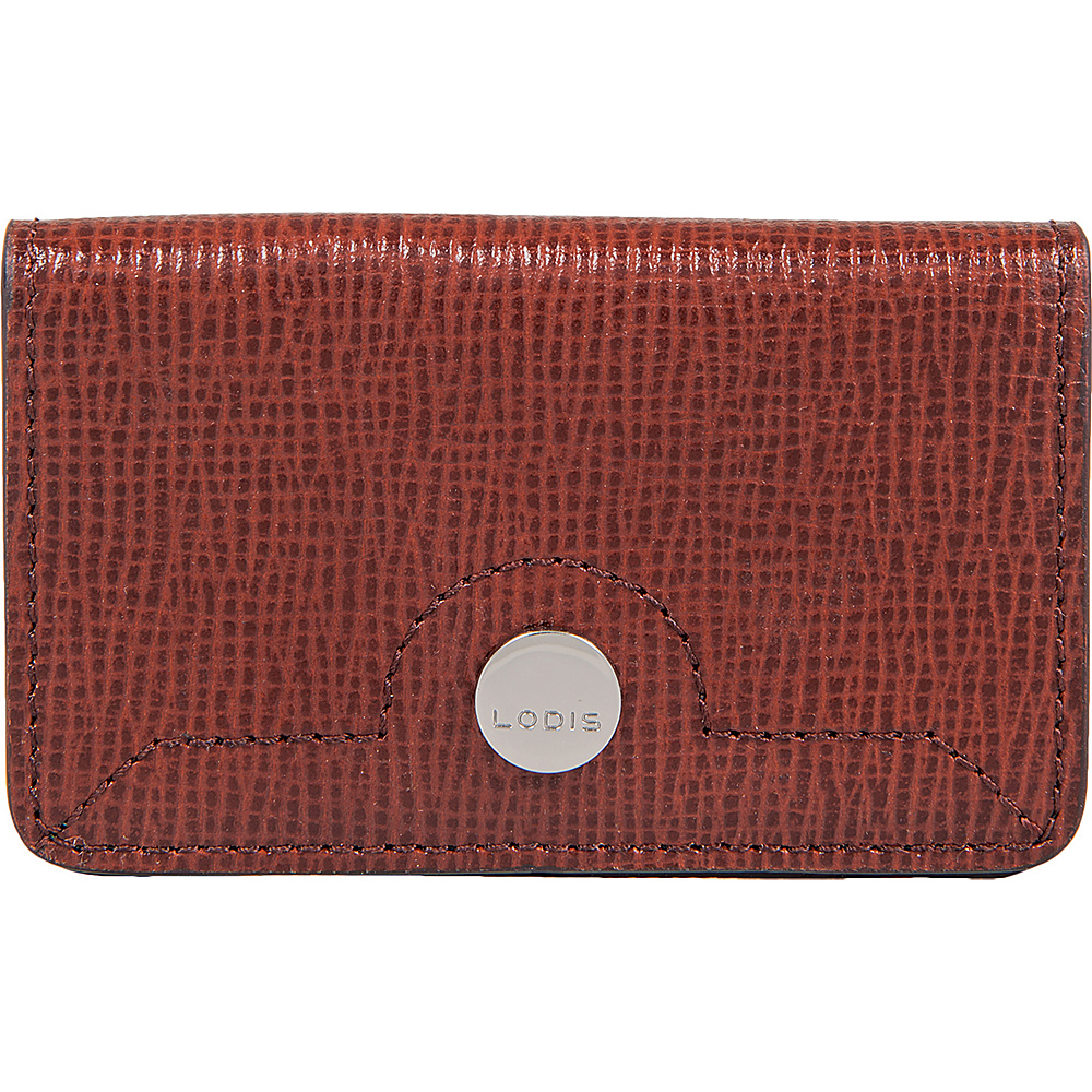 Lodis Business Chic RFID Mini Card Case Russet - Lodis Womens Wallets - Women's SLG, Women's Wallets