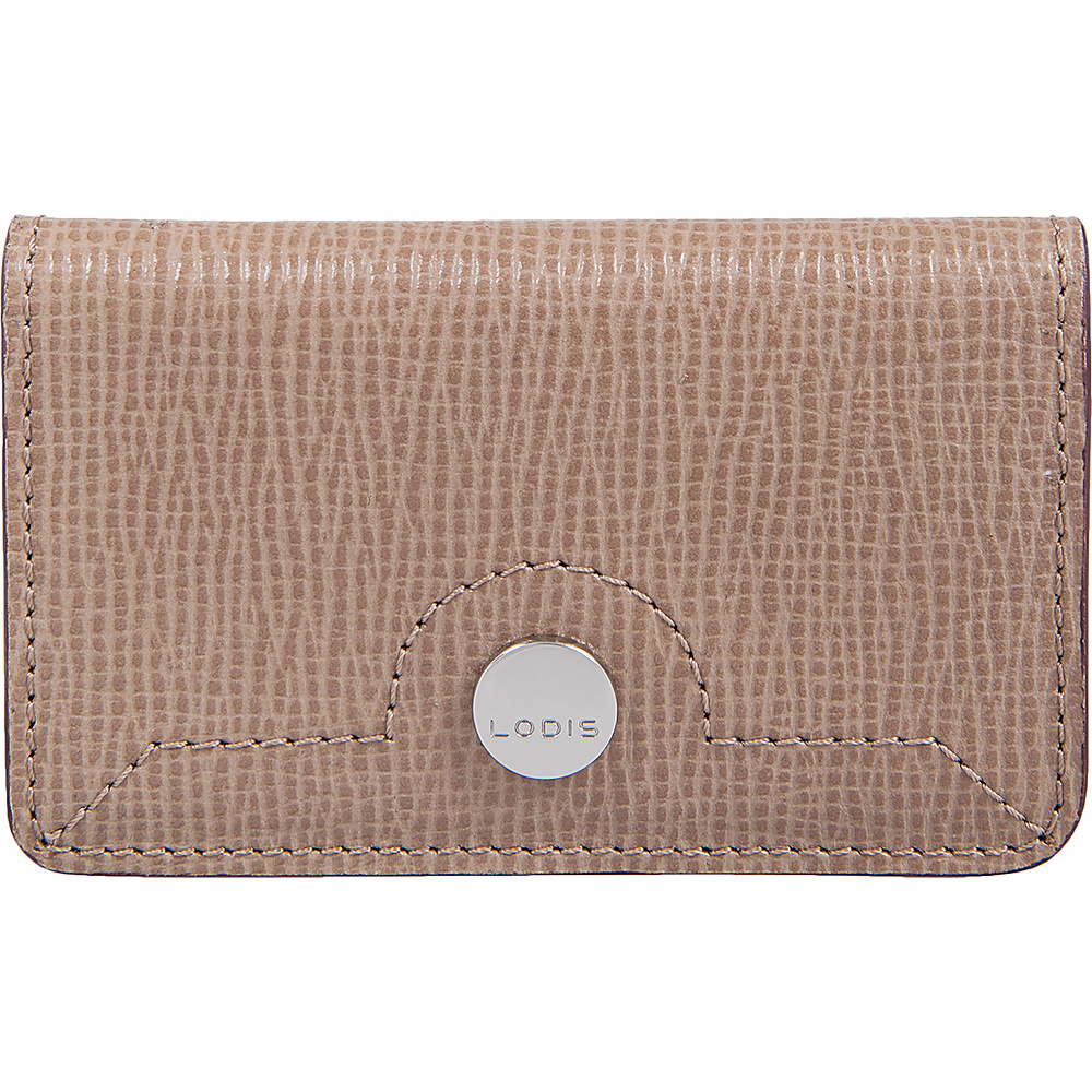 Lodis Business Chic RFID Mini Card Case Taupe - Lodis Womens Wallets - Women's SLG, Women's Wallets