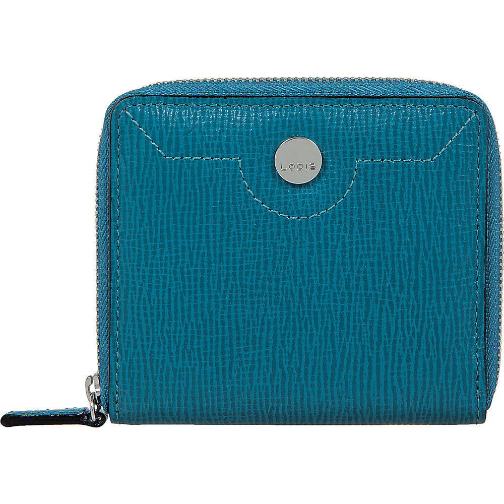 Lodis Business Chic RFID Amaya Zip French Wallet Peacock - Lodis Womens Wallets - Women's SLG, Women's Wallets