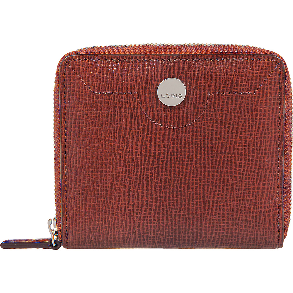 Lodis Business Chic RFID Amaya Zip French Wallet Russet - Lodis Womens Wallets - Women's SLG, Women's Wallets