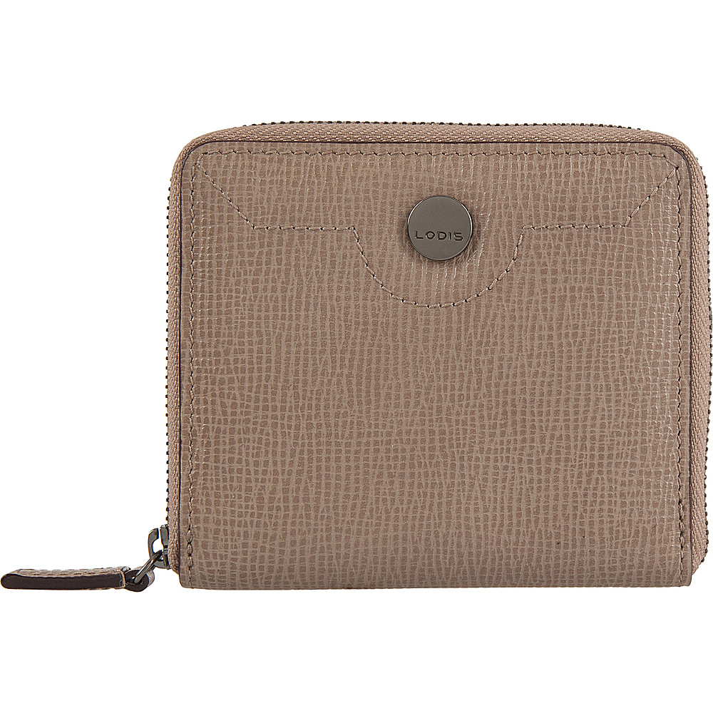 Lodis Business Chic RFID Amaya Zip French Wallet Taupe - Lodis Womens Wallets - Women's SLG, Women's Wallets
