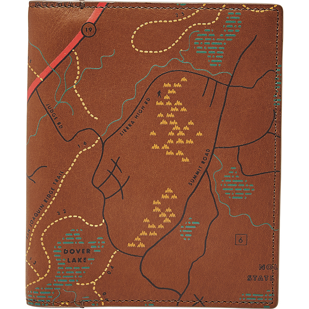 Fossil RFID Passport Case Cognac - Fossil Travel Wallets - Travel Accessories, Travel Wallets