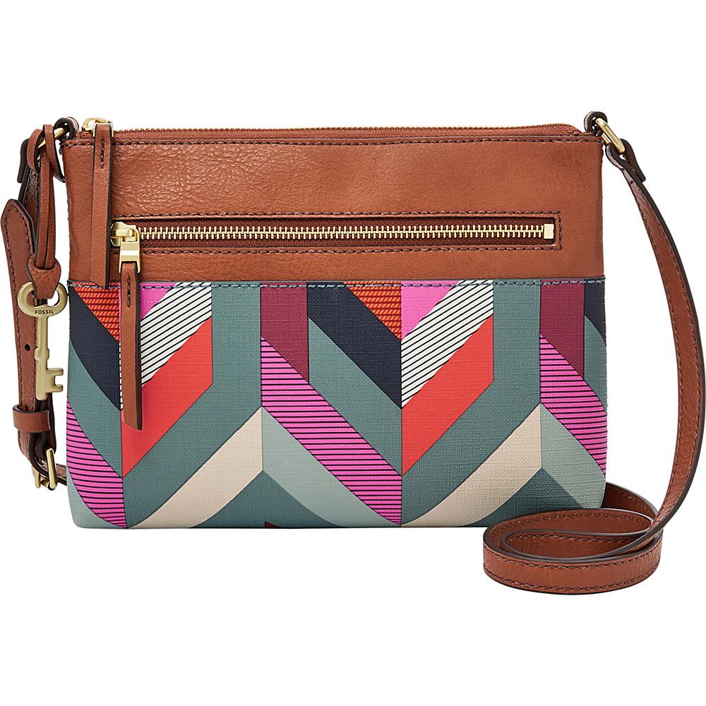 Fossil Fiona Crossbody Blue(937) - Fossil Manmade Handbags - Handbags, Manmade Handbags