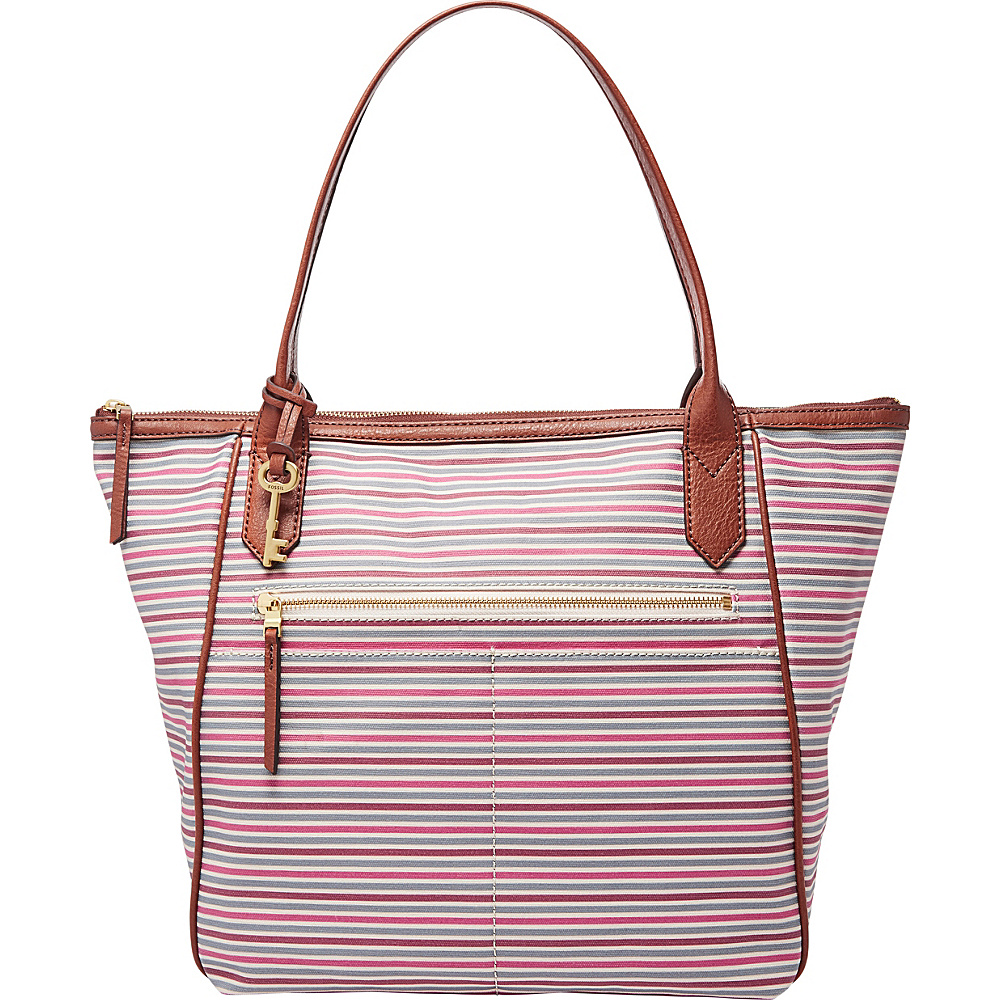 Fossil Fiona Tote Pink Multi - Fossil Fabric Handbags - Handbags, Fabric Handbags