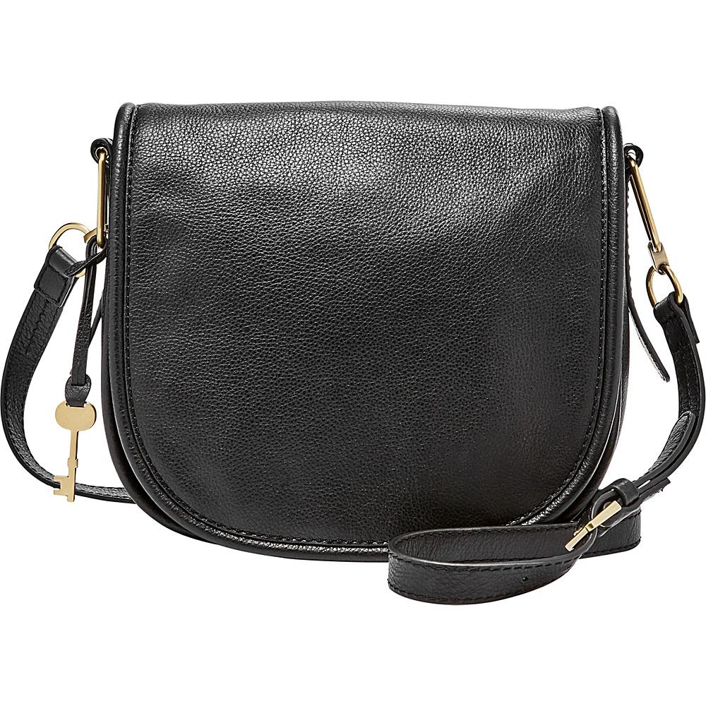 Fossil Rumi Crossbody Black - Fossil Leather Handbags - Handbags, Leather Handbags