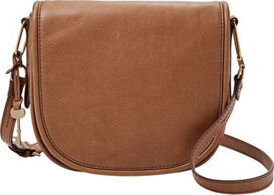 Fossil Rumi Crossbody Saddle - Fossil Leather Handbags