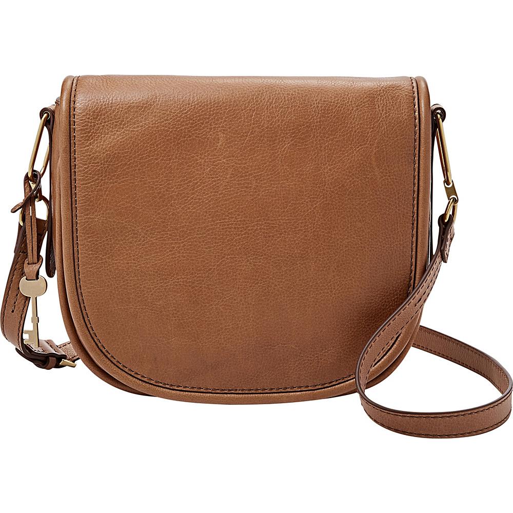 Fossil Rumi Crossbody Saddle - Fossil Leather Handbags - Handbags, Leather Handbags