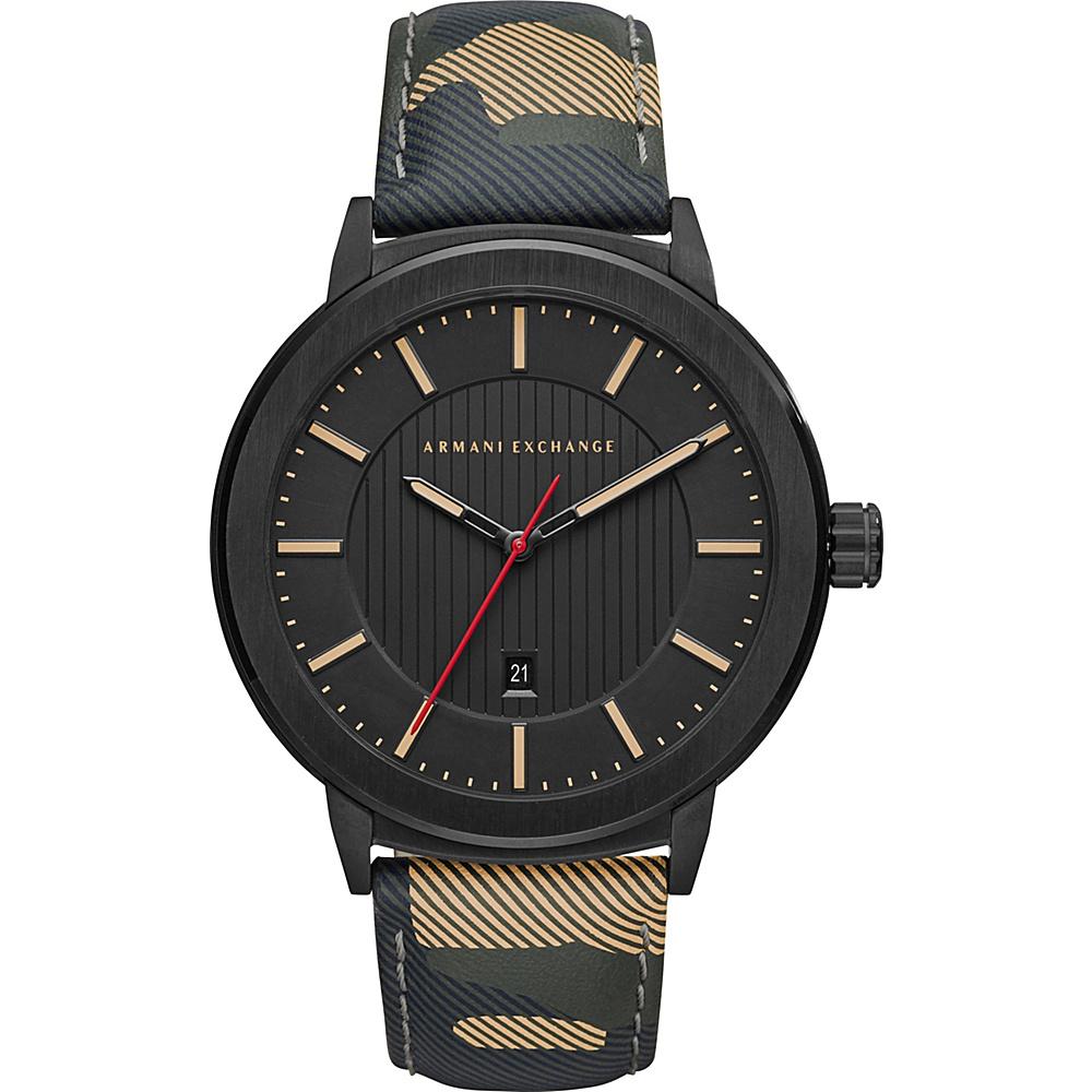 A/X Armani Exchange Street Watch Camo - A/X Armani Exchange Watches