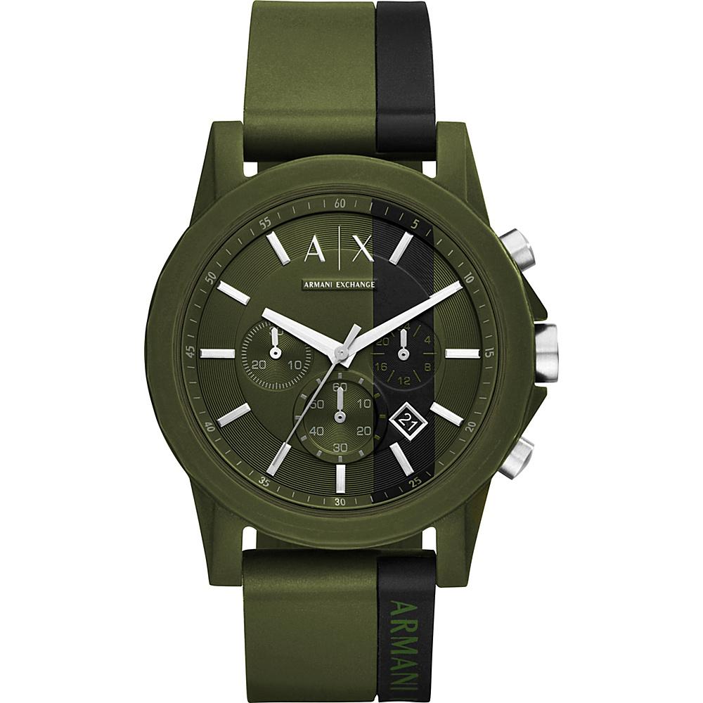 A/X Armani Exchange Active Watch Green/Black - A/X Armani Exchange Watches