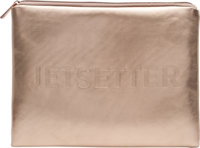 MYTAGALONGS MYTAGALONGS Goddess Jetsetter Pouch Rose Gold - MYTAGALONGS Toiletry Kits