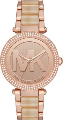 Michael Kors Watches Parker Three-Hand Watch Rose Gold - Michael Kors Watches Watches