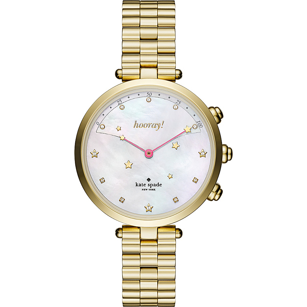 kate spade watches Holland Hybrid Smartwatch Gold - kate spade watches Watches