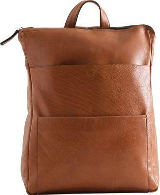 Still Nordic Champ Laptop Backpack Cognac - Still Nordic Laptop Backpacks