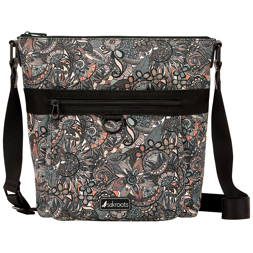 Sakroots New Adventure Kilo Top Zip Crossbody Sienna Spirit Desert - Sakroots Fabric Handbags - Handbags, Fabric Handbags