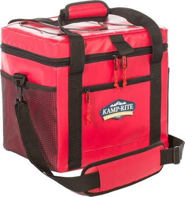 Kamp Rite 24 SQ Kooler Red - Kamp Rite Travel Coolers