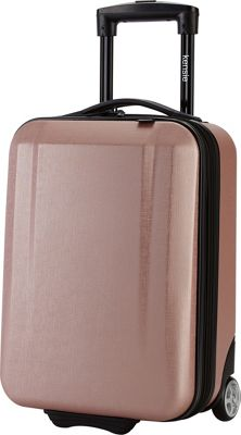 Kensie Luggage Carry-On 17 inch Hardside Underseater Rose Gold - Kensie Luggage Kids' Luggage
