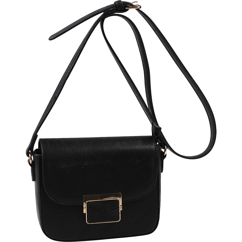 MKF Collection by Mia K. Farrow Winslet Crossbody Black - MKF Collection by Mia K. Farrow Manmade Handbags - Handbags, Manmade Handbags