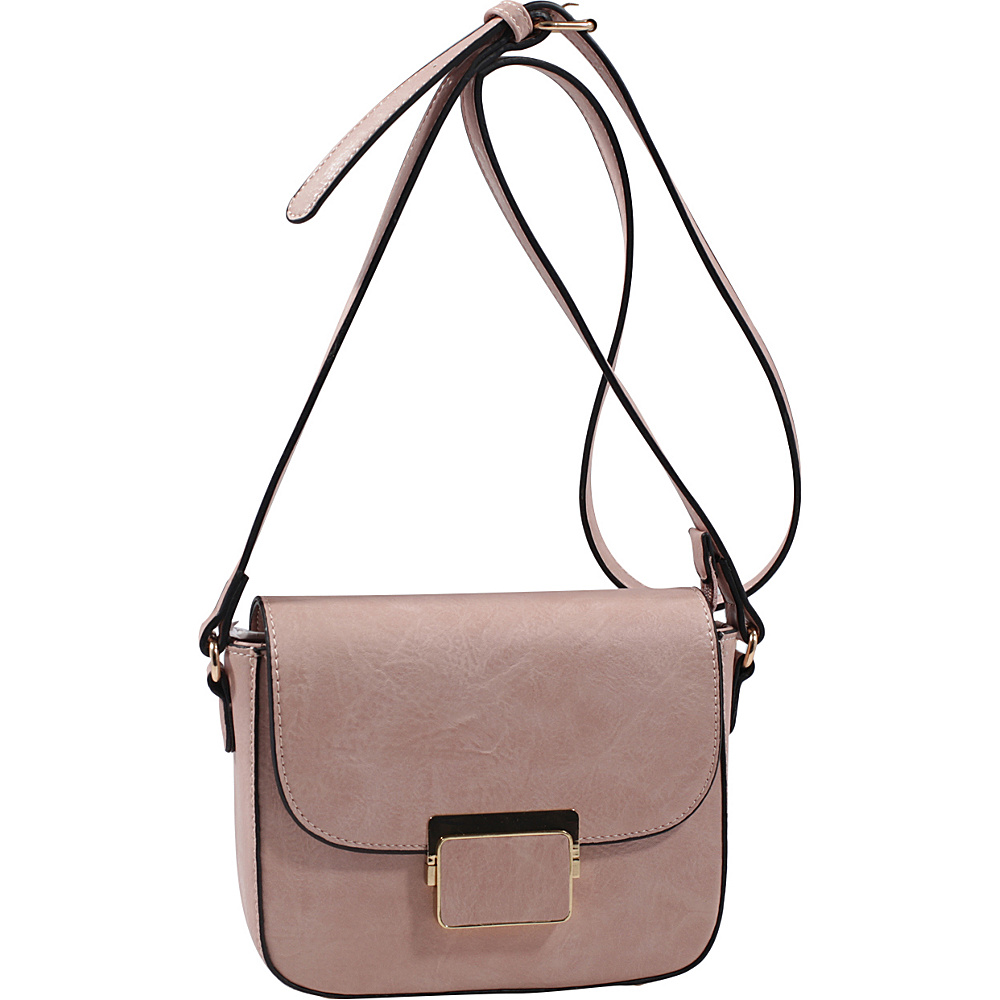 MKF Collection by Mia K. Farrow Winslet Crossbody Blush - MKF Collection by Mia K. Farrow Manmade Handbags - Handbags, Manmade Handbags