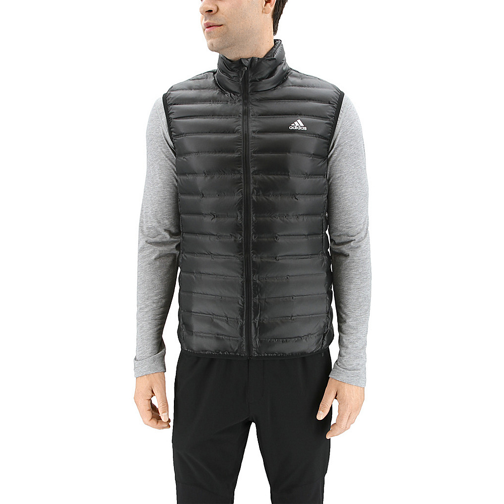 adidas outdoor Mens Varilite Vest 2XL - Black - adidas outdoor Mens Apparel - Apparel & Footwear, Men's Apparel