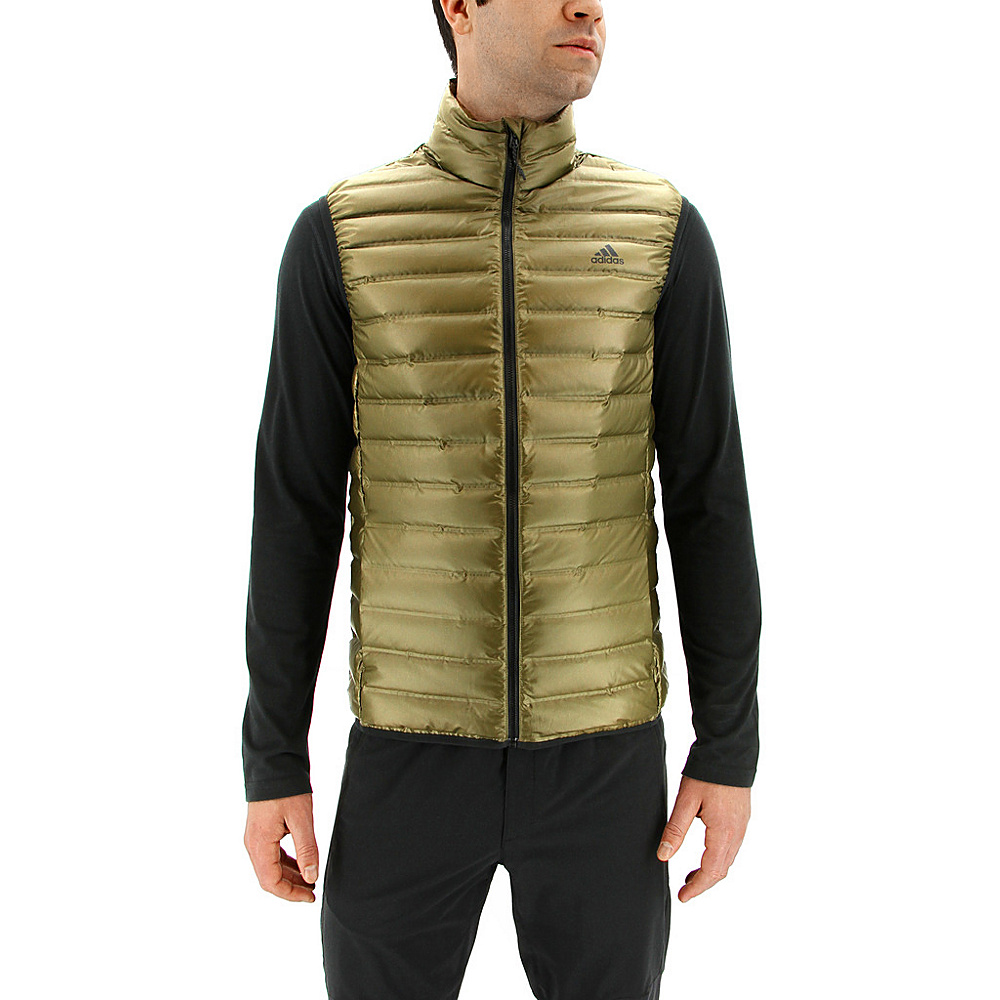 adidas outdoor Mens Varilite Vest 2XL - Trace Olive - adidas outdoor Mens Apparel - Apparel & Footwear, Men's Apparel