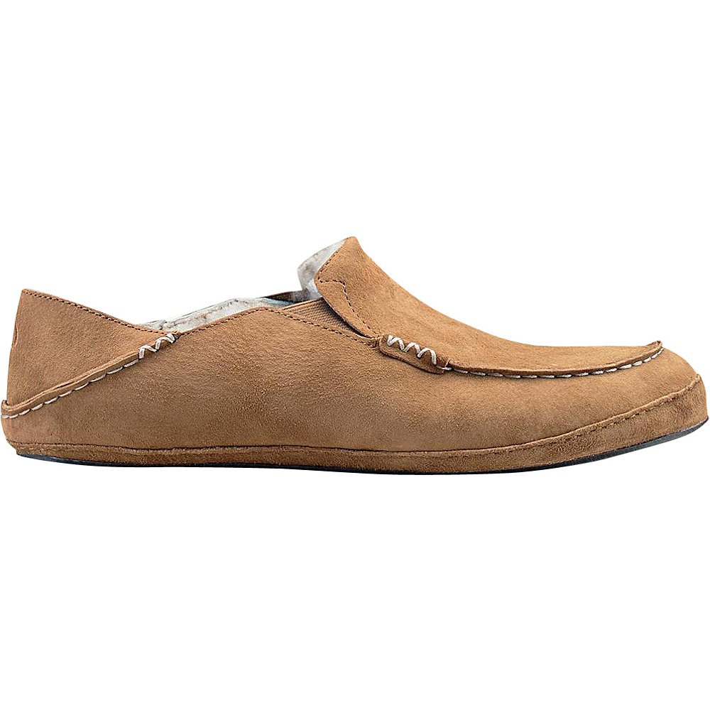 OluKai Mens Moloa Slipper 7 - Tobacco/Tobacco - OluKai Mens Footwear - Apparel & Footwear, Men's Footwear