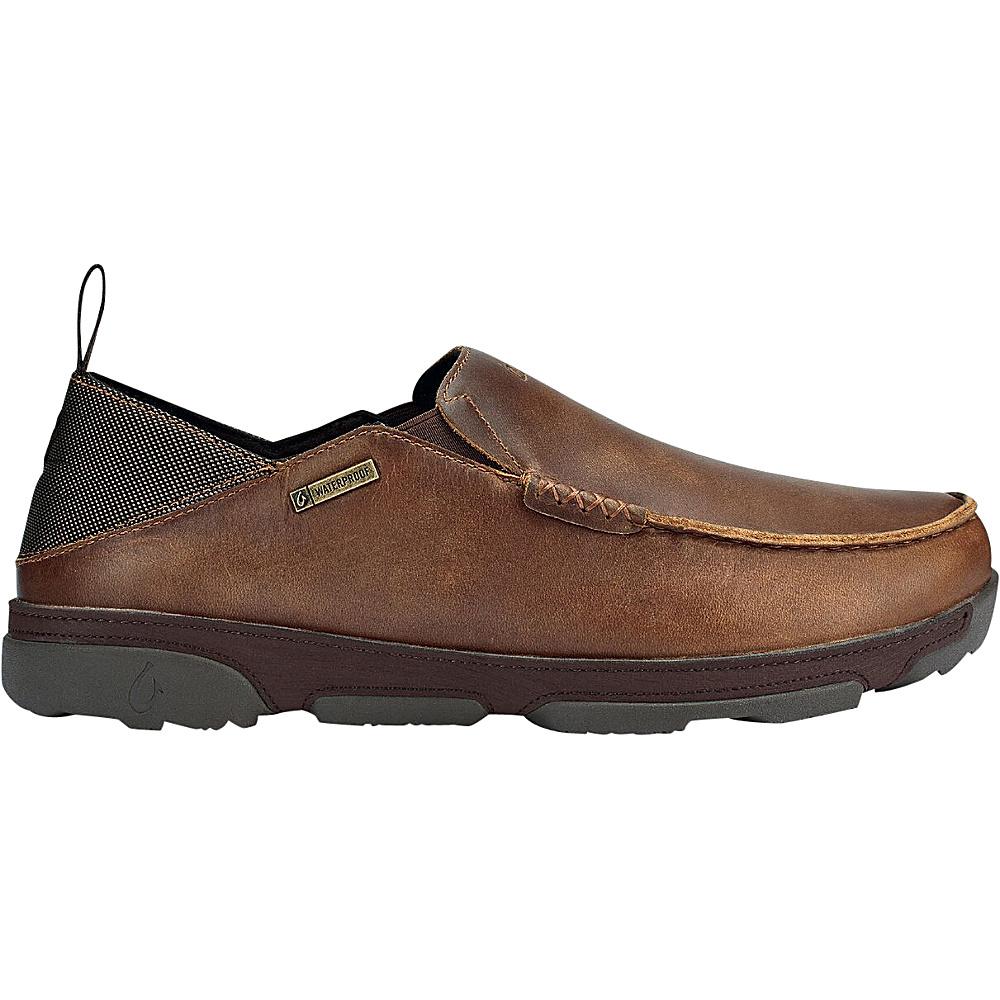 OluKai Mens NaI WP Boot 9.5 - Fox/Dark Wood - OluKai Mens Footwear - Apparel & Footwear, Men's Footwear