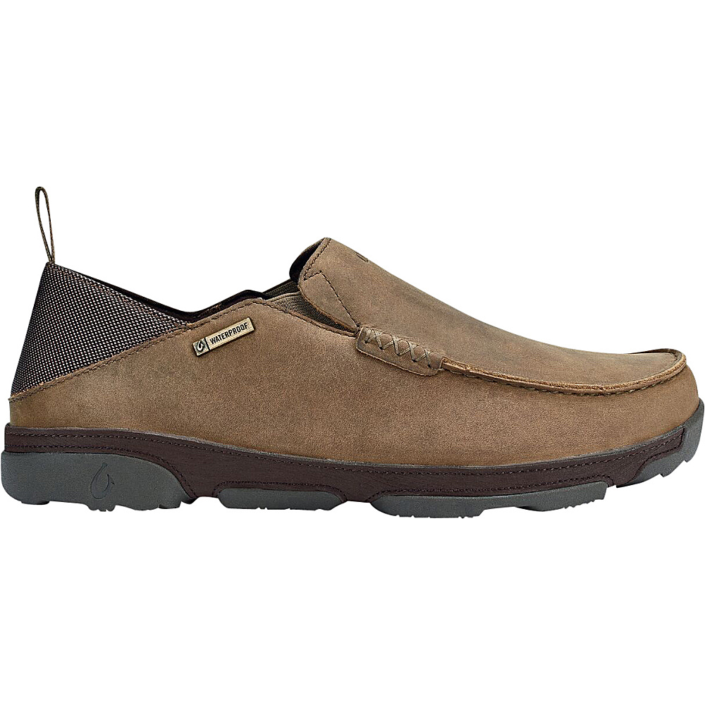 OluKai Mens NaI WP Boot 10.5 - Ray/Dark Wood - OluKai Mens Footwear - Apparel & Footwear, Men's Footwear