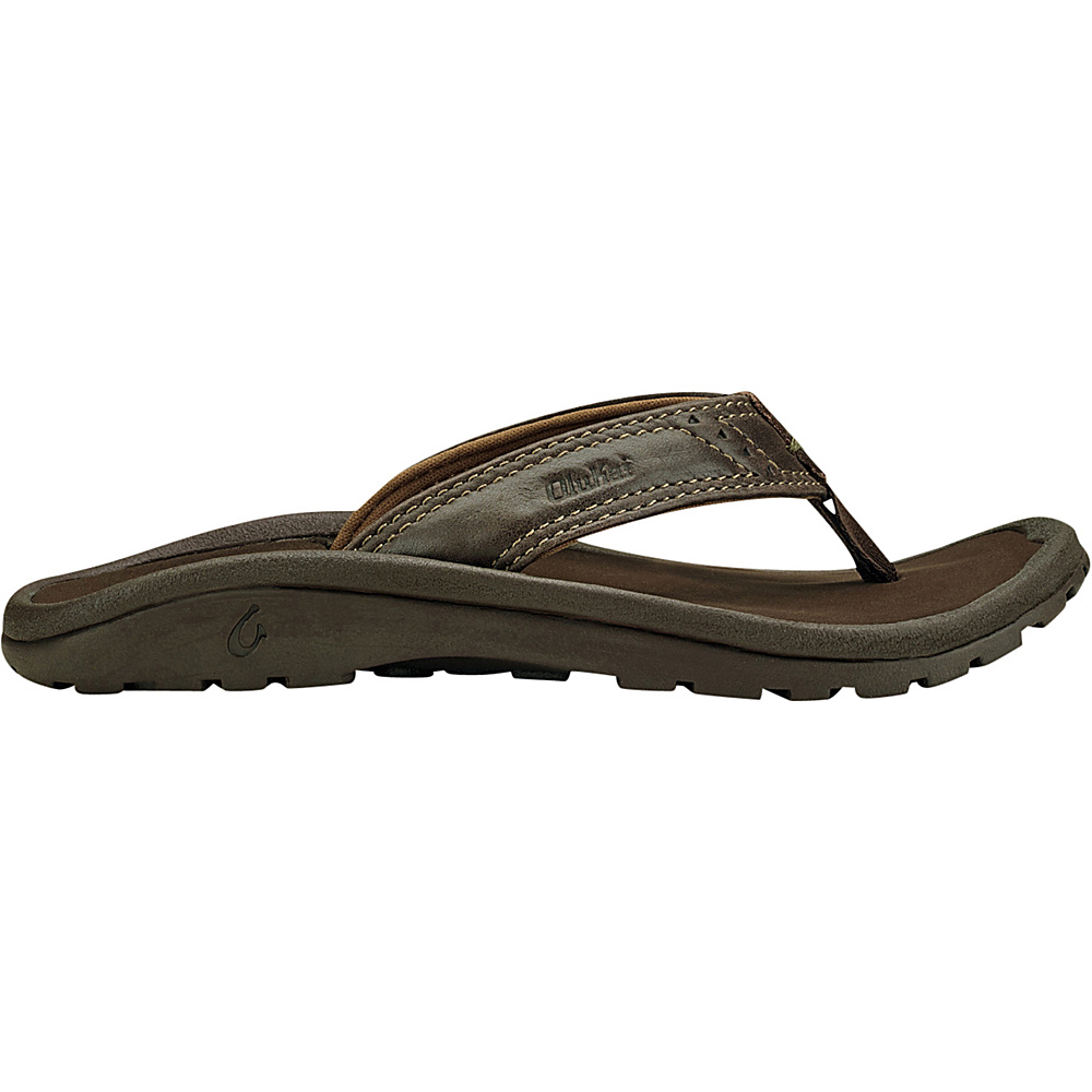 OluKai Boys Nui Sandal XS (US Kids) - Dark Java/Dark Java - OluKai Mens Footwear - Apparel & Footwear, Men's Footwear
