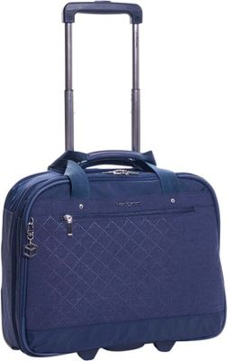 Hedgren Onyx Mobile Office Dress Blue - Hedgren Wheeled B...
