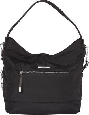 Hedgren Sparkle Hobo Black - Hedgren Fabric Handbags