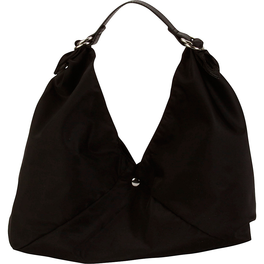 Hadaki Small Origami Tote Black/Black - Hadaki Leather Handbags - Handbags, Leather Handbags