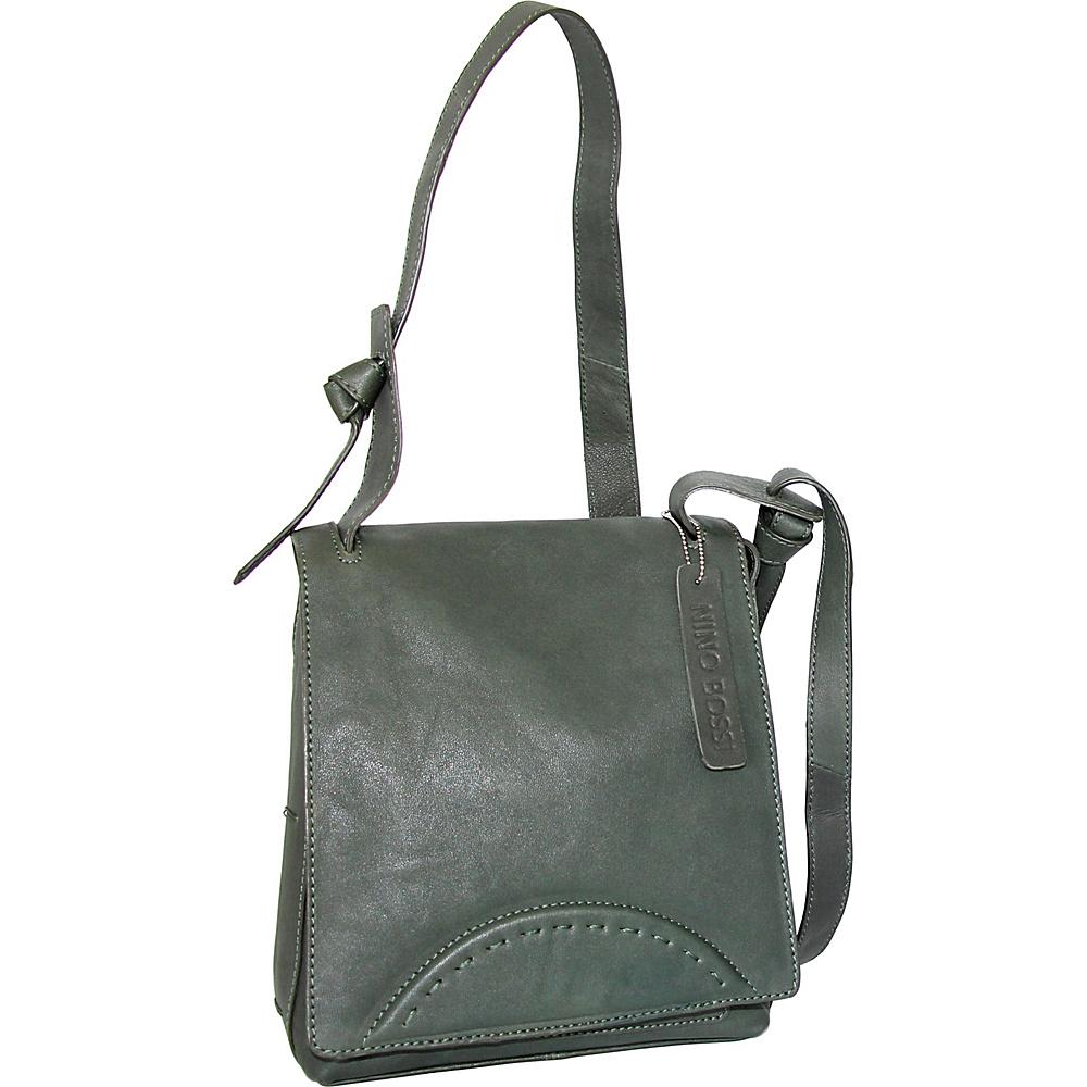 Nino Bossi Ginnie Crossbody Moss - Nino Bossi Leather Handbags - Handbags, Leather Handbags