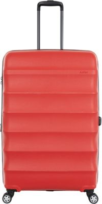 Antler Juno DLX 30 inch Expandable Hardside Checked Spinner Luggage Red - Antler Hardside Checked