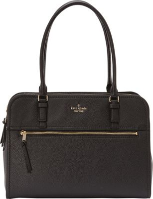 kate spade new york Jackson Street Kiernan Shoulder Bag Black - kate spade new york Designer Handbags