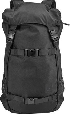Nixon Landlock Laptop Backpack SE II All Black - Nixon Laptop Backpacks